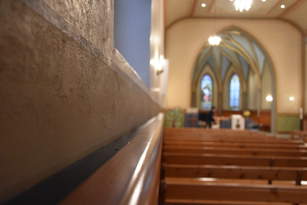 In der Kirche Evangelische Kirchgemeinde Sevelen