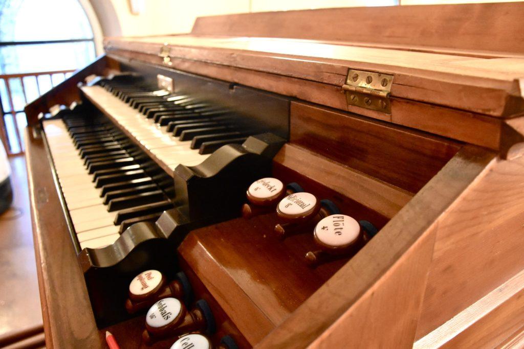 Orgel Evangelische Kirchgemeinde Sevelen