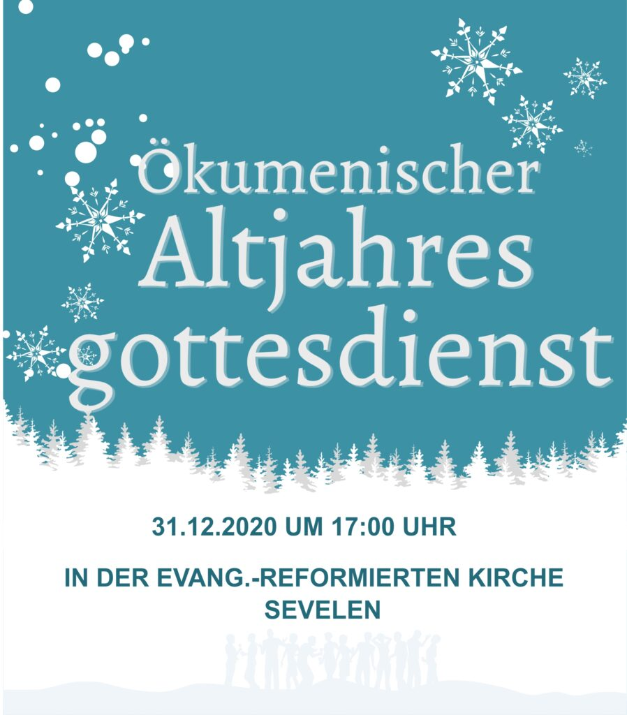 Gottesdienst Silvester 2020
